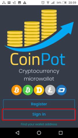 Coin Pot