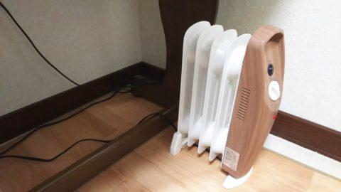 アイリスオーヤマ ミニオイルヒーター POH-505K